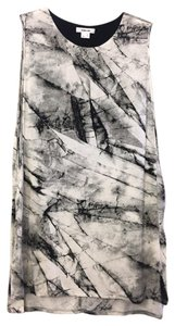 Helmut Lang Top White/Black/Grey
