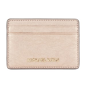 38b11d07958c8d Michael Kors Money Pieces Rose Gold Leather Boxed Card Case Mini Wallet  NWT. Michael Kors Soft Pink ...