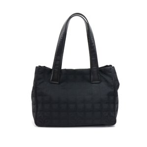 Added to Shopping Bag. Chanel Travel Jacquard Nylon Tote in Black d70d4f7504363