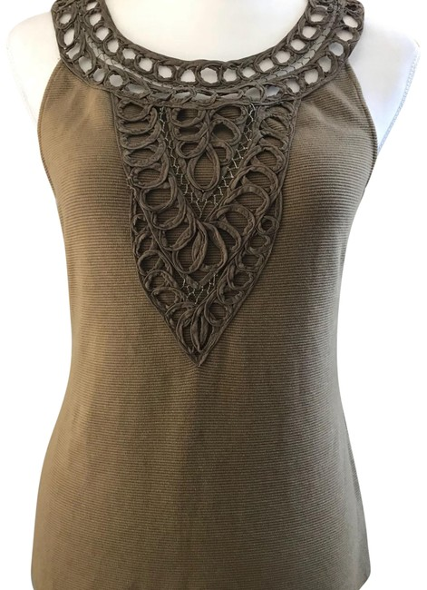 Item - Olive Green H15 Stcl Brand. Tank Top/Cami Size 6 (S)
