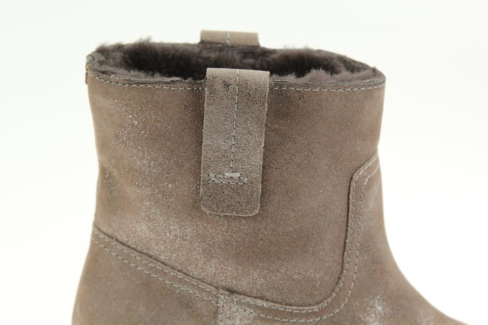 63a27864bcc Tory Burch Brown Wayland Short Fur Lined Boots Booties Size US 8 Regular  (M