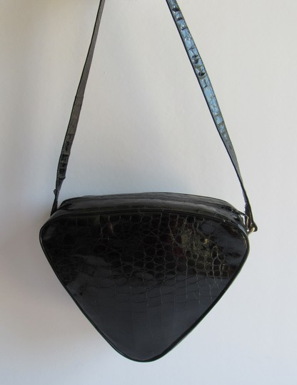 MAUD FRIZON Handbags Vintage Patent Leather Heart Shaped Purse Shoulder Bag