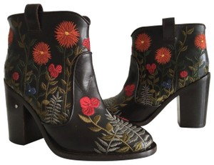 Laurence Dacade brown embroidered Boots