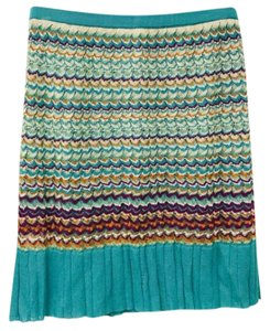 Andrea Jovine M Missoni Italy Knit Skirt Multicolor