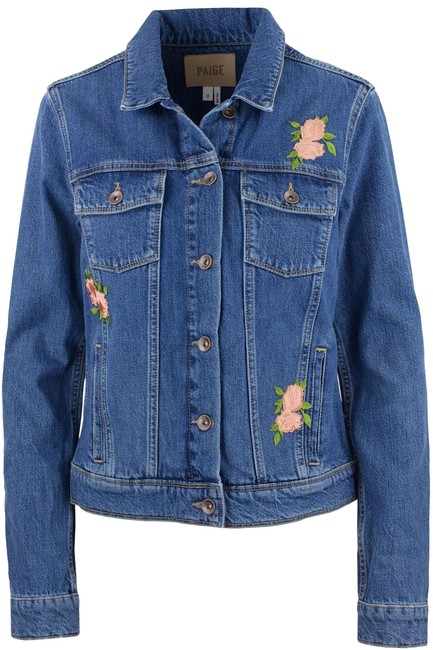 Item - Blue 'rowan' Rosemont Patch Jacket Size 8 (M)