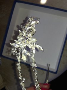Bel Aire Bridal Bel Air Double Crystal And Pearl Head Band