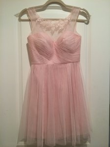 BHLDN Blush Chloe Dress
