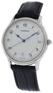 Tourneau Authentic Mens Tourneau Classic 30020 A Steel Automatic Date 37MM