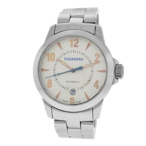 Tourneau Authentic Mens Tourneau T2824 Stainless Steel 40MM Automatic Date
