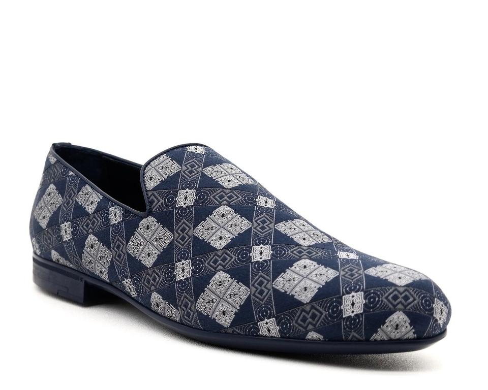 365cc1f8853f Jimmy Choo Blue Men Sloane Loafers Formal Shoes Size US 11.5 Regular ...