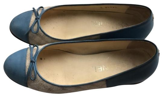 Preload https://item4.tradesy.com/images/chanel-light-blue-and-beige-flats-size-us-55-narrow-aa-n-22979658-0-1.jpg?width=440&height=440