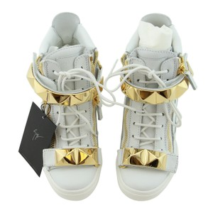 Giuseppe Zanotti Sneakers High-top Sneakers High-top Studded Sneakers White Wedges