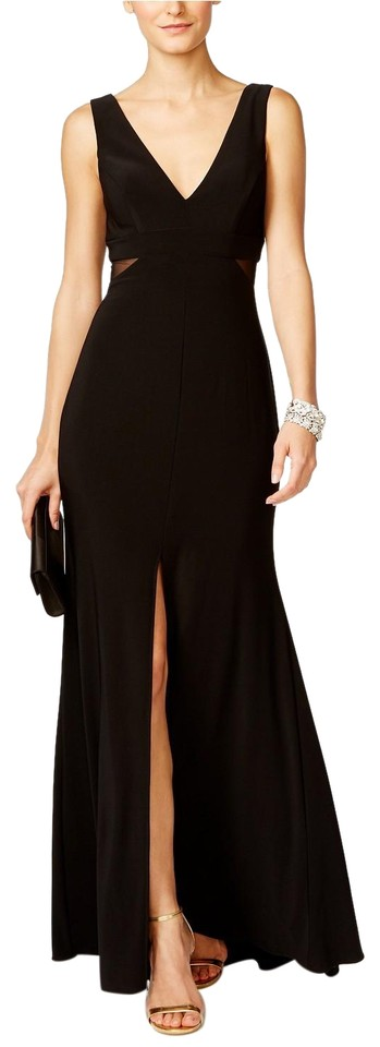 Xscape Black X By Illusion-inset Mermaid Gown Long Formal Dress Size ...