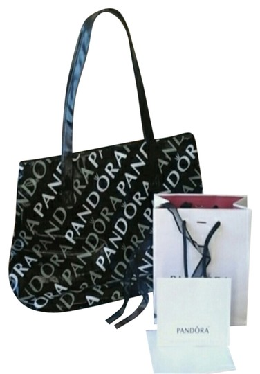Preload https://item2.tradesy.com/images/pandora-handbag-with-gift-and-card-blackwhite-tote-2298046-0-0.jpg?width=440&height=440