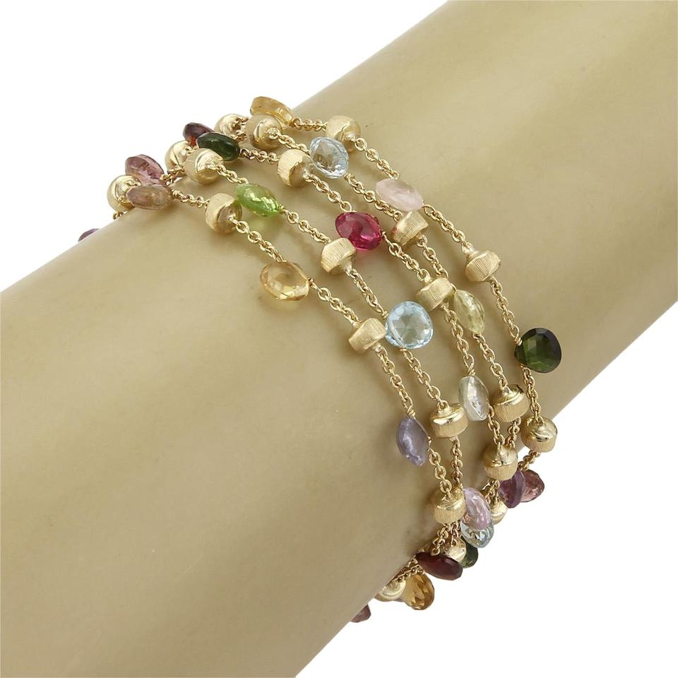 enlarged products marco bracelets link bracelet bicego gemstone jewelry murano mixed