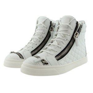 Giuseppe Zanotti Sneakers High-top Sneakers High-top Men Sneakers Quilted White Athletic