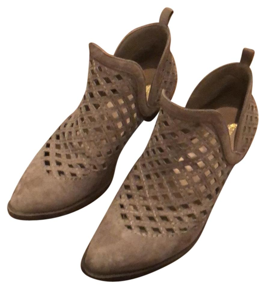 4af41c49f4e0 Mossimo Supply Co. Greige Geometric Cutout Boots Booties. Size  US 7.5  Regular (M ...