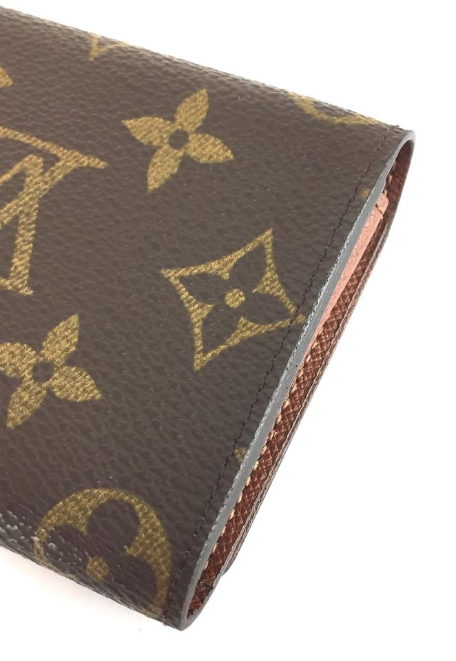 Louis vuitton 17099 monogram flap credit business card case pocket louis vuitton 17099 monogram flap credit business card case pocket organizer wallet colourmoves