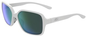 Oakley New Oakley Sunglasses OO9312-07 Polished White Frame Jade Iridium Lens