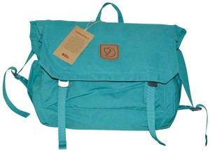 Fjällräven Messenger Laptop Foldsack G1000 Water Resistant Tote in Copper (TEAL GREEN)