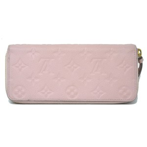Louis Vuitton Louis Vuitton Pink Empreinte Monogram Long Zipper Wallet
