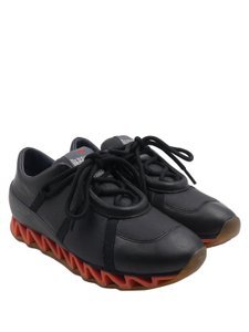 Bernhard Willhelm Leather Sneakers Low Top Trainers black Athletic