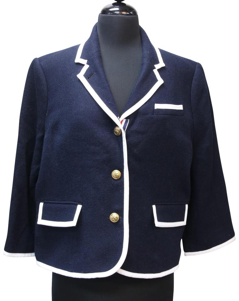 c8b51033fb Thom Browne Navy Blue X Neiman Marcus X Target Collaboration Women Xxl  Blazer