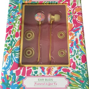 Lilly Pulitzer New In Box Earbuds