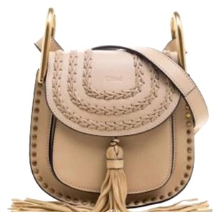 Chloé Studded Leather Leather Cross Body Bag