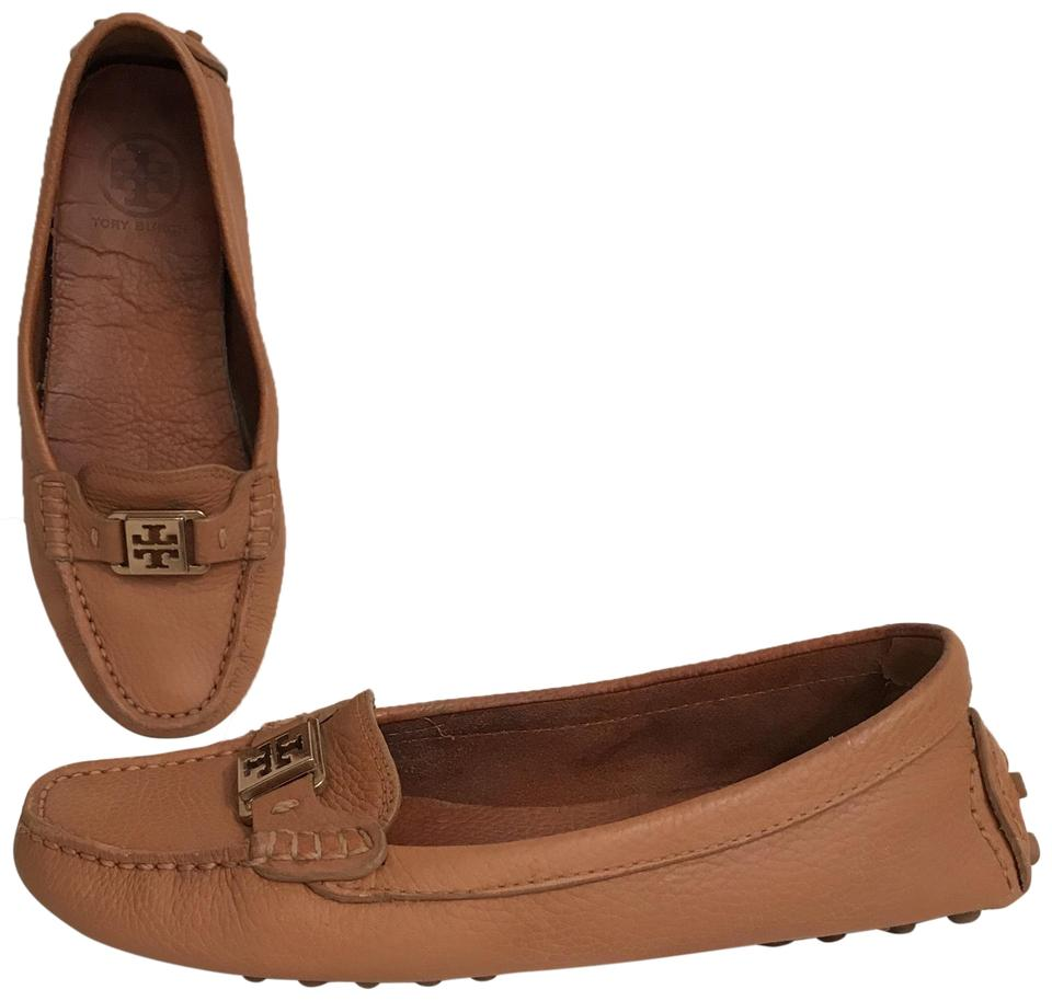 d714fe63c72bec Tory Burch Moccasins. Driver Losfers Leather Box Kendrick Tan Brown Flats  Image 0 ...