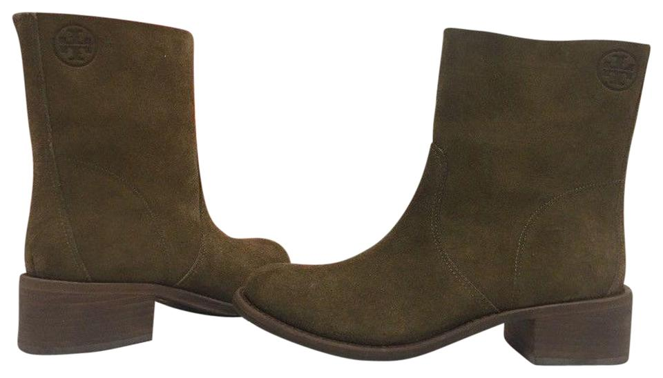 73a0db1e8 Tory Burch Brown - River Rock Brown Siena Women s Heels Boots Booties