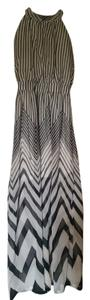Black/white/chevron Maxi Dress by Maxi Chevron