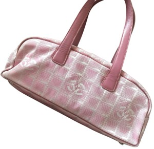Chanel Satchel in pink silver