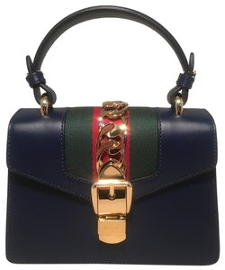 Gucci Satchel in navy blue