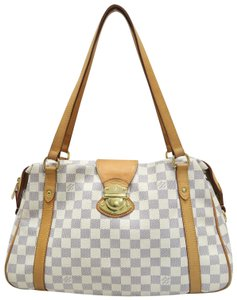 Louis Vuitton Lv Damier Azur Stresa Pm Canvas Shoulder Bag