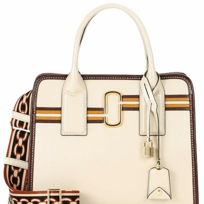 Item - New Vintage Big Shot Parchment Multi Leather Satchel