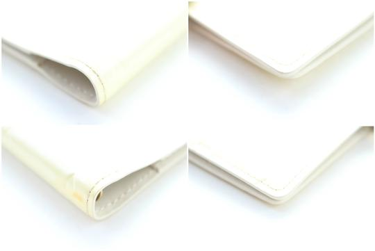 Louis Vuitton Notebook Diary Address Book Cover Wallet Ivory Perle Clutch Image 7