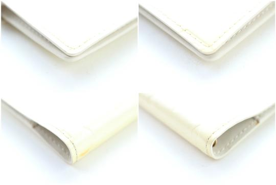 Louis Vuitton Notebook Diary Address Book Cover Wallet Ivory Perle Clutch Image 9