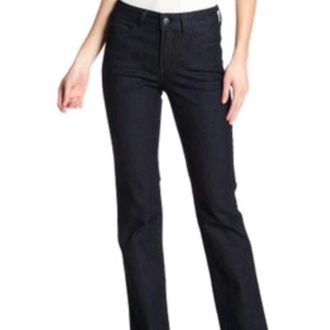 Item - Blue Dark Rinse XS Stretch Cuffed 0 Not Your Daughters P Petite X Small 25 0 1 2 Denim Pants New Straight Leg Jeans Size 24 (0, XS)