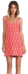Joie short dress Spiced Coral on Tradesy