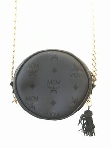 MCM Tassels Leather Vintage Monogram Chain Cross Body Bag