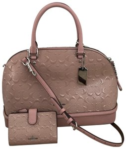 Coach Blush Sierra Satchel in Pink