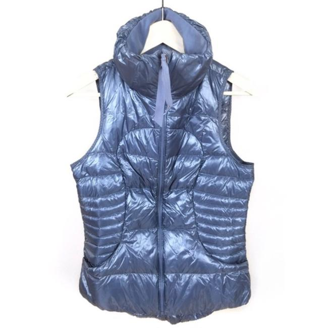 Item - Blue Fluffin Awesome Vest Size 6 (S)