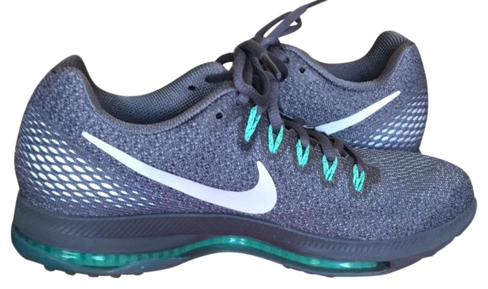 100% authentic 86afb ffa6d Nike Dark Grey Green Zoom All Out Low Sneakers Size US 8.5 Regular (M, B)  62% off retail