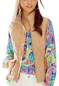Lilly Pulitzer Quilted Print Preppy Vest