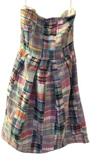 J.Crew Tube Patchwork Summer Casual Dress