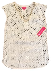 5d8e59a152237 Lilly Pulitzer Lilly Pulitzer for Target Eyelet Tunic Cover-Up
