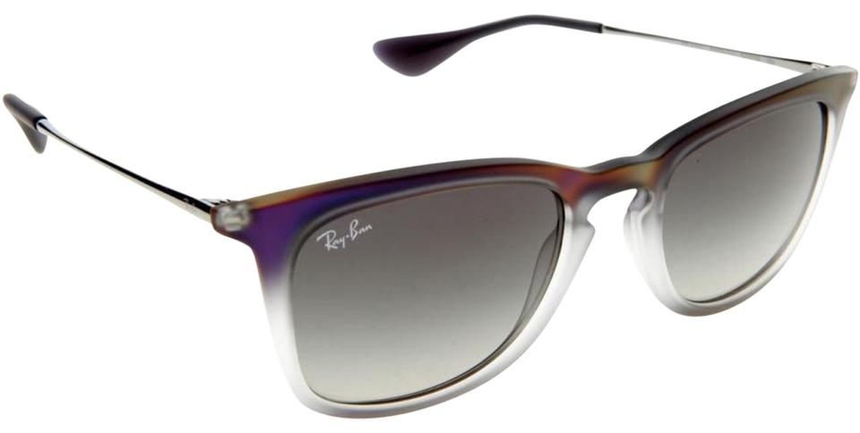 a8d80d45adc Ray-Ban Ray Ban Sunglasses RB4221 6223 11 Violet Grey Frame Grey Gradient  Lens ...