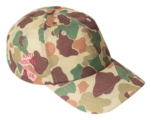 Anti Social Social Club Duck Camo Camp Cap
