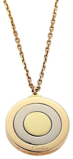 Preload https://img-static.tradesy.com/item/22986302/cartier-19251-movable-triple-disc-pendant-in-18k-tricolor-gold-wcert-necklace-0-1-540-540.jpg